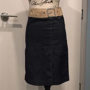 Jeans Skirt size 36 small